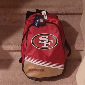NEW San Francisco 49ers backpack NWT
